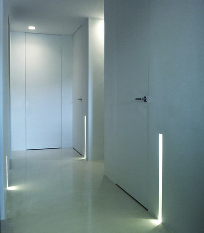 Vani ciechi e illuminazione cama studio design - Luci a led per interni casa ...